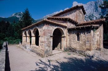 Iglesia de Santa María de Lebeña, Cantabria