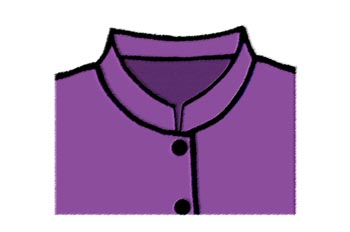 Cuello de tirilla