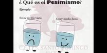 EMOCIONES - PESIMISMO