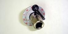 útil medidor de ángulo de giro