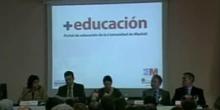 Presentación del portal +Educación por Dª. Lucía Figar (2/2)