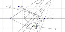 Sistema diédrico: Ángulo formado por dos planos