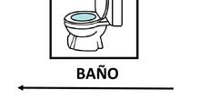 Carteles baño