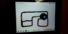 Pruebas de dibujo de circuitos Ozobot en 3º.