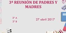 3ª REUNIÓN GENERAL DE PADRES Y MADRES