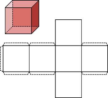 El cubo y su desarrollo