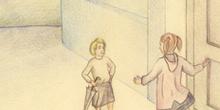 La mandolina: Julia visitando a su amiga Eugenia