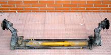 Puente trasero con barras de torsión