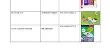 Listado de libros de texto curso 2020-21