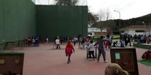Actividad de todo el CRA Amigos de la Paz Semana Cultural. Taller de juegos
