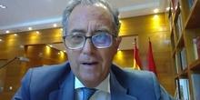 28-V-2021. Jornadas Inspección Parte 4. Don Enrique Ossorio. Consejero de Educación y Juventud.