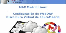 MAX Madrid Linux. Configuración de WebDAV