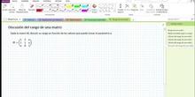 2Bto - 01 - Matrices - 17 - Discusión del rango con el método de Gauss