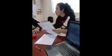 Diálogo en inglés