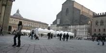 Catedral San Pietro, Bolonia (vista lateral)
