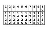 Tabla del 40- 4I