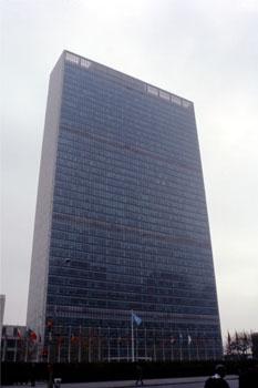 Sede de Naciones Unidas, Nueva York, Estados Unidos