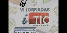 """Ponencia de Dª Aurora Aparicio Manrique """"Utilización de blogs y webs para el cambio metodológico"""" VI Jornadas iTIC 2014"""
