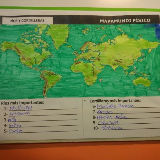 [LAPBOOK] Atlas geográfico del mundo - IMAGEN 4