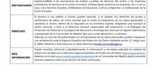 POLÍTICA PRIVACIDAD MATRÍCULA