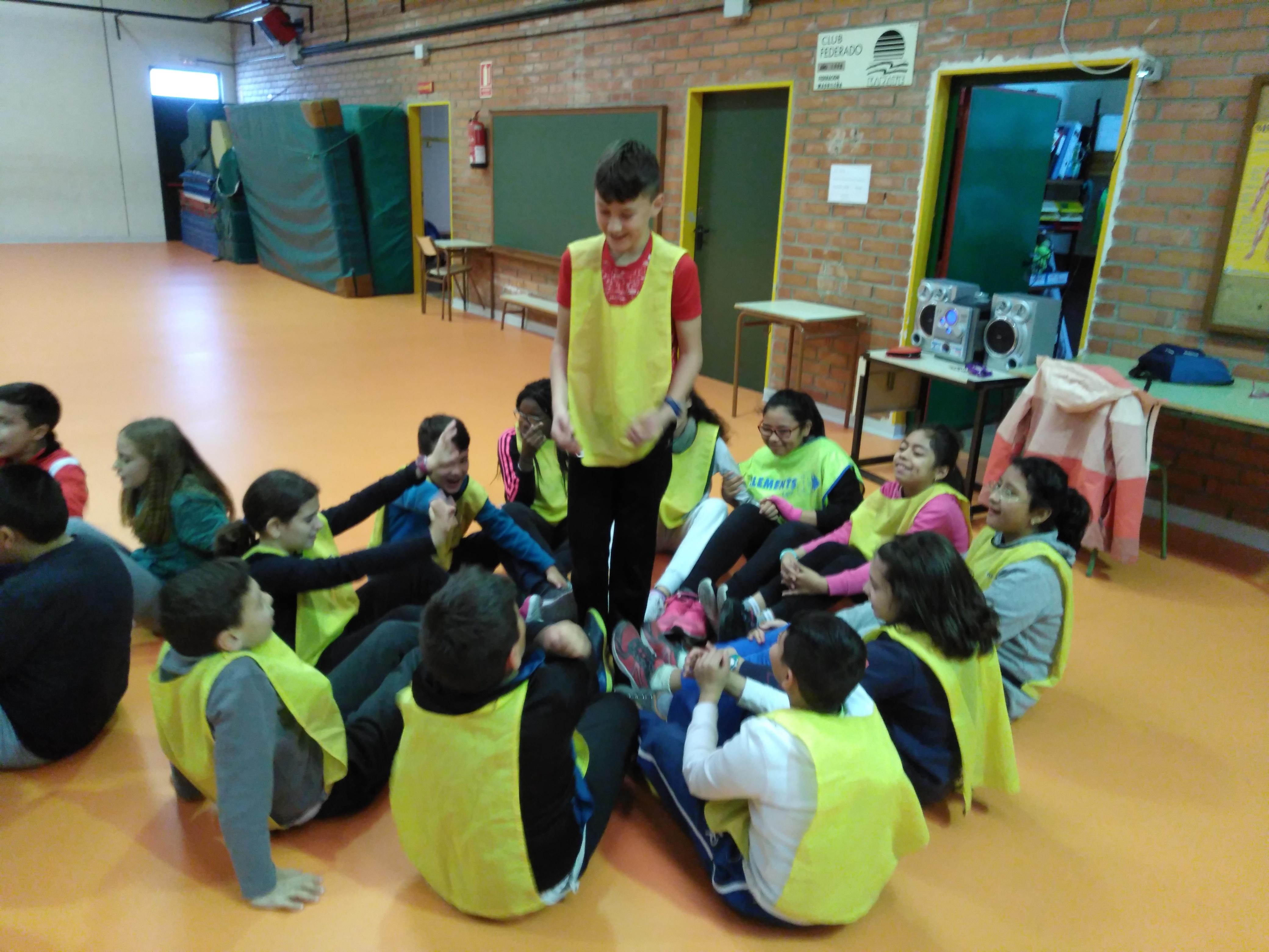 Convivencia en Educación física 9