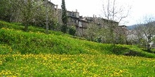 Pueblo medieval de Santa Pau, Garrotxa, Girona