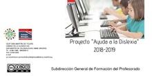 """Exposición de la experiencia del CEIP San Martín de Tours en la segunda sesión formativa del Proyecto """"Ayuda a la dislexia"""""""