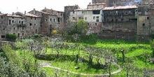 Pueblo medieval de Santa Pau, Garrotxa, Gerona