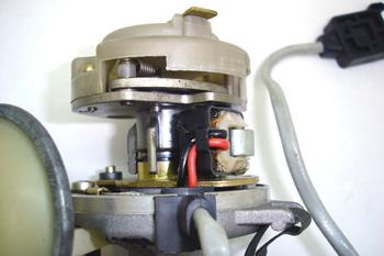 Distribuidor de encendido. Detalle del sensor inductivo