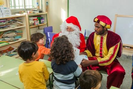 Los RRMM y Papá Noel en INF 4C 4