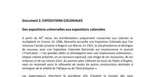 Séance 4: Les représentations et l'imaginaire coloniaux en métropole: les expositions coloniales. DOC2
