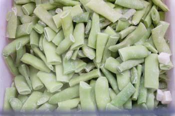 Alubias verdes congeladas