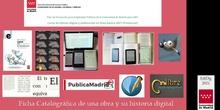 EdiDig LB-13 Ficha Catalográfica de una obra y su historia digital
