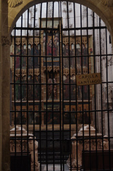 Capilla de Santiago, Catedral de Toledo