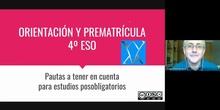 ORIENTACIÓN 4º ESO - BACHILLERATO Y CICLOS FORMATIVOS 2020-21