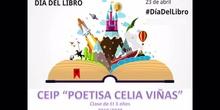 CEIP Poetisa Celia Viñas Día del libro 2020 clase 3 años