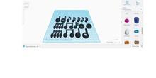 Figuras musicales. Impresión 3D
