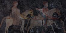 Pinturas románicas, Sacramenia, Segovia; Castilla y León