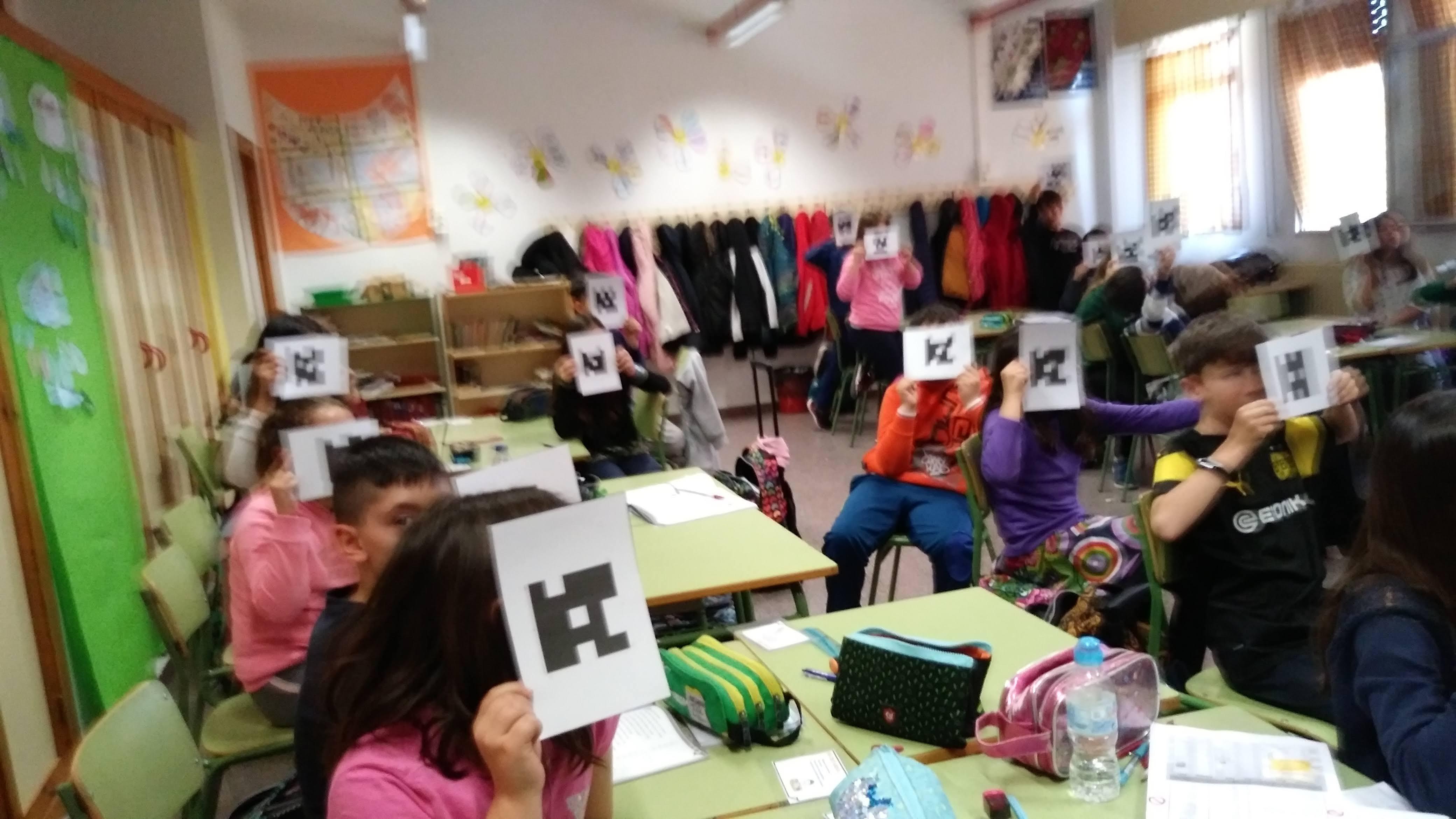 Plickers en el Aula de Inglés 3