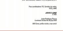 MAX Server: perfiles móviles y MAX-control