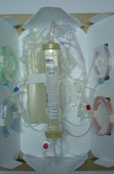 Set de hemofiltración