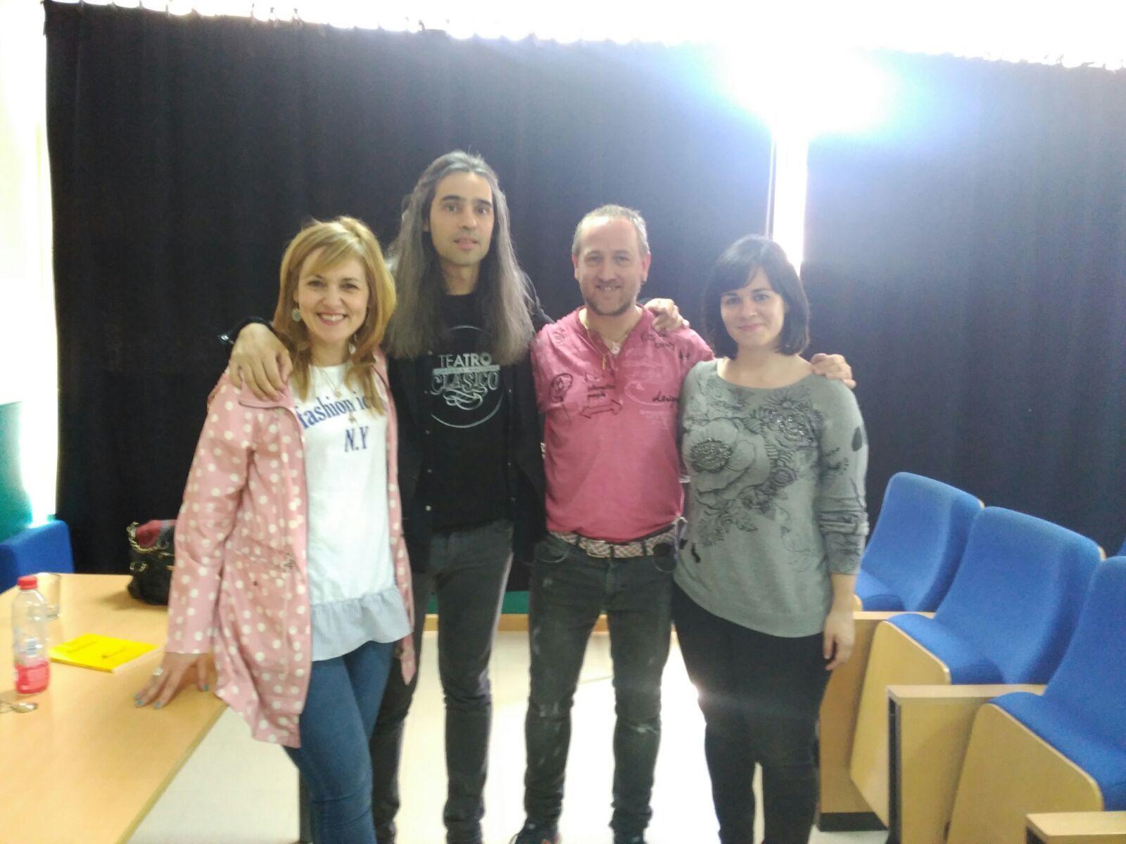Álvaro Tato - Encuentro con los actores del IES Nicolás Copérnico 7