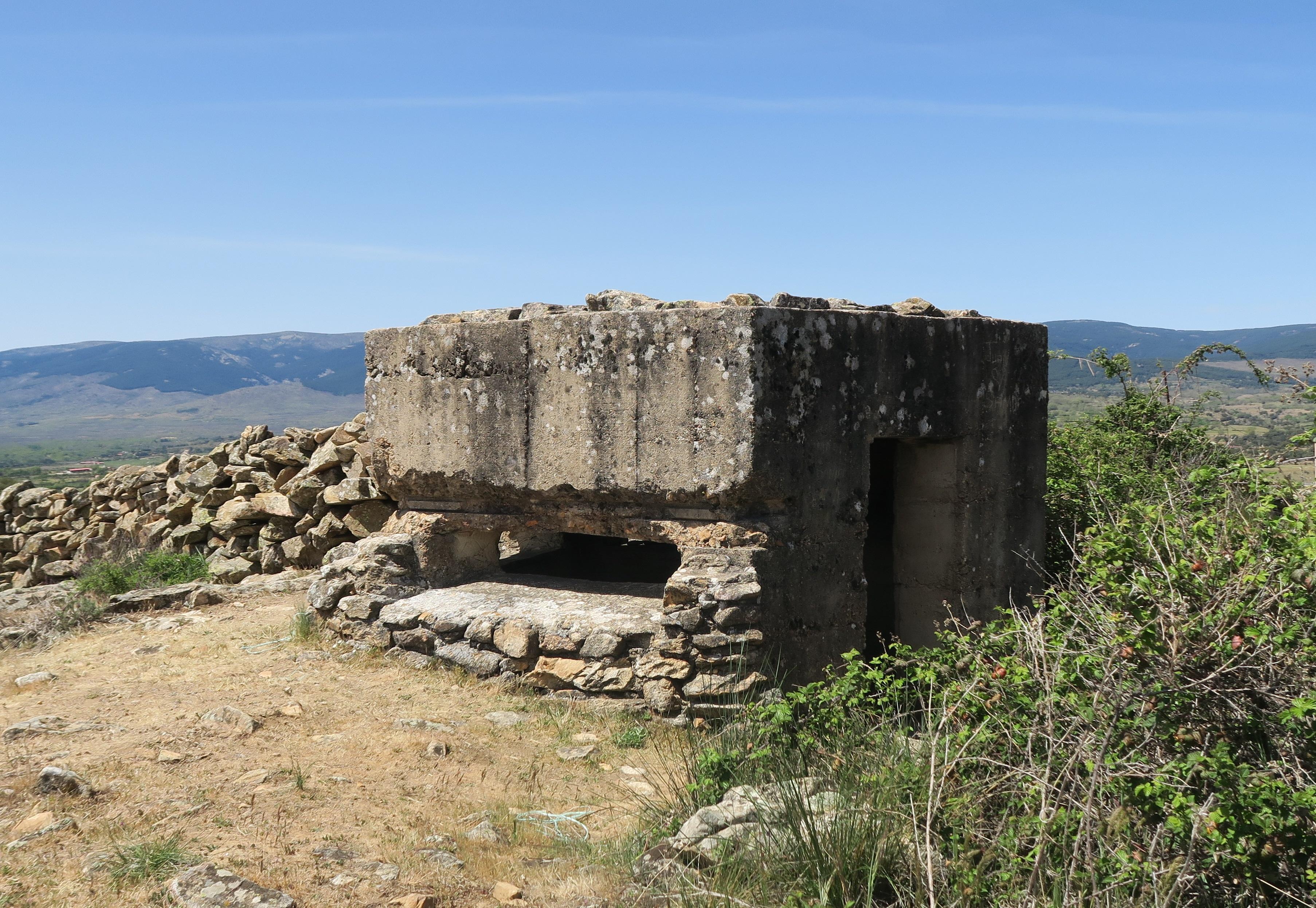 Fortificaciones de la Guerra Civil en Piñuecar-Gandullas (Frente Nacional) 21