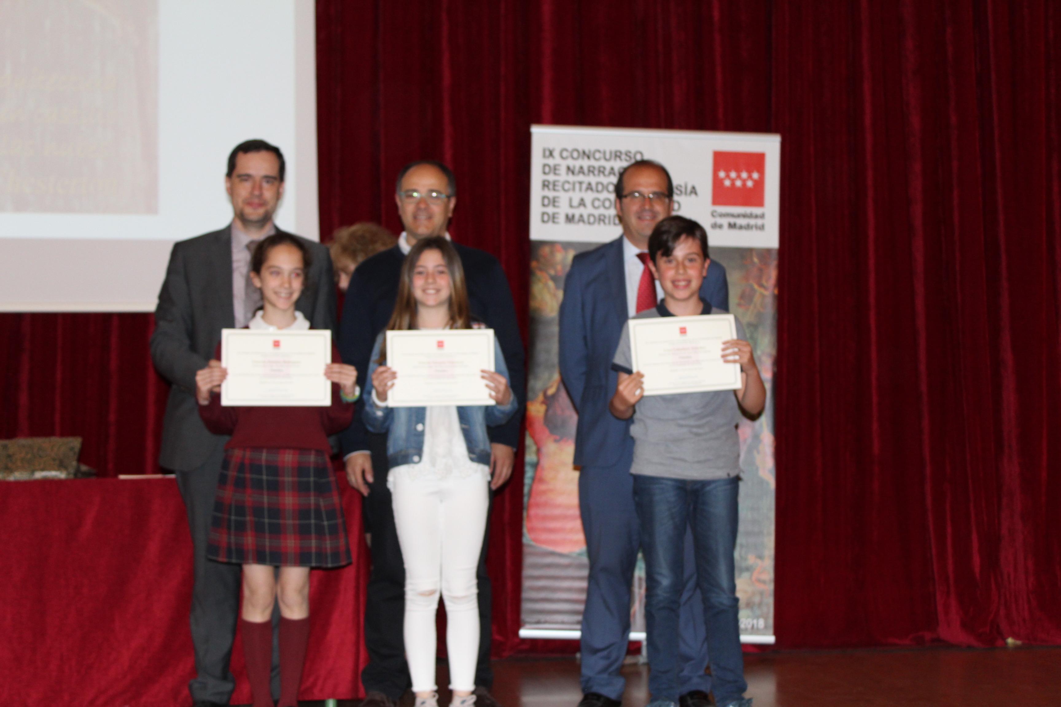 Entrega de los premios del IX Concurso de Narración y Recitado de Poesía 6