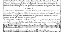 Monteclair, principes de Musique, extracto sobre los ornamentos
