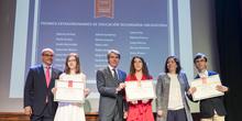 Entrega de los premios extraordinarios correspondientes al curso 2016/2017 1