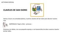 Manualidad San Isidro Claveles