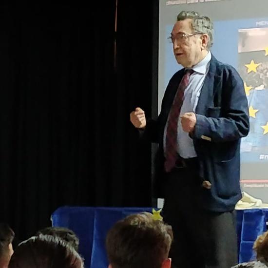 Conferencia sobre la UE (D. Eugenio Nasarre) - 14 de mayo de 2019  1