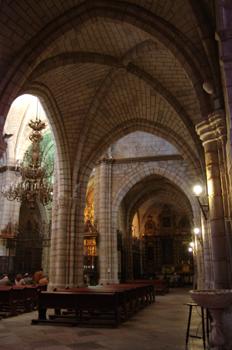 Nave lateral, Catedral de Badajoz, Extremadura