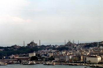 Santa Sofía y Mezquita Azul, Estambul, Turquía